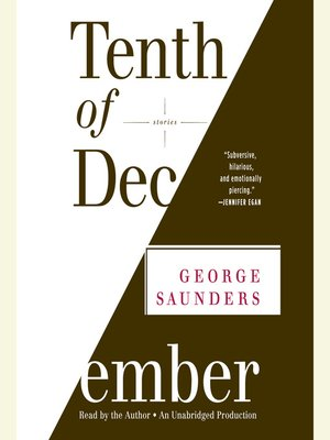 cover image of Tenth of December
