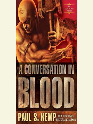 cover image of A Conversation in Blood
