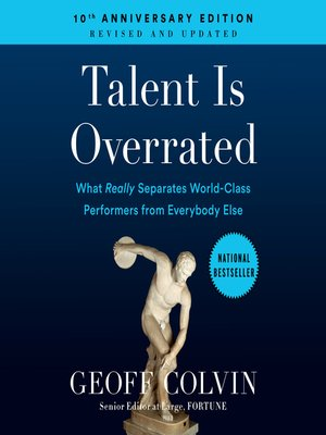 cover image of Talent is Overrated