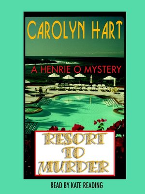 cover image of Resort to Murder