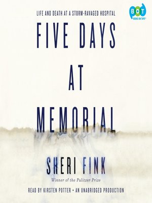 cover image of Five Days at Memorial