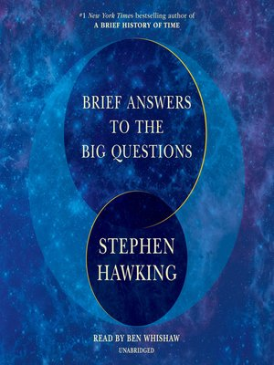 cover image of Brief Answers to the Big Questions