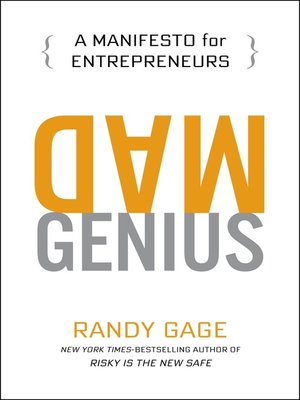 cover image of Mad Genius