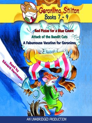 cover image of Geronimo Stilton, Books 7-9
