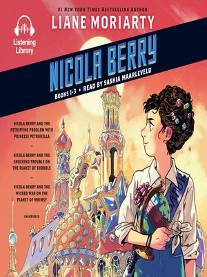 cover image of Nicola Berry, Books 1-3