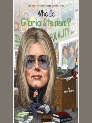 cover image of Who Is Gloria Steinem?