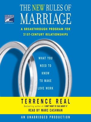 cover image of The New Rules of Marriage
