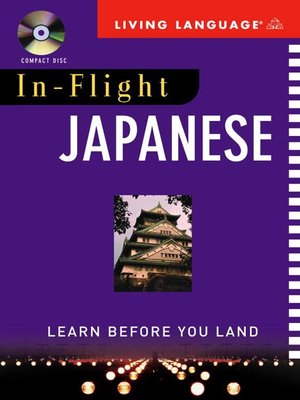 cover image of In-Flight Japanese