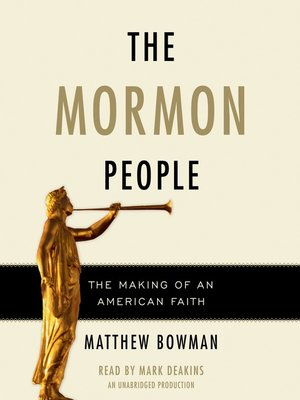 cover image of The Mormon People