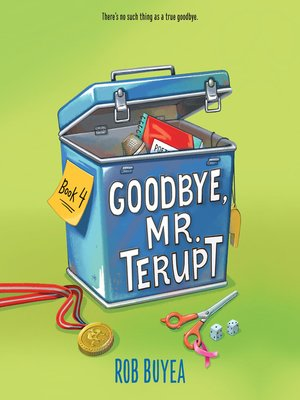 cover image of Goodbye, Mr. Terupt
