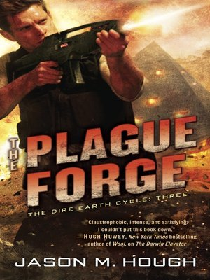 cover image of The Plague Forge