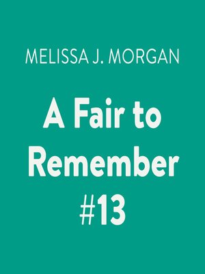 cover image of A Fair to Remember