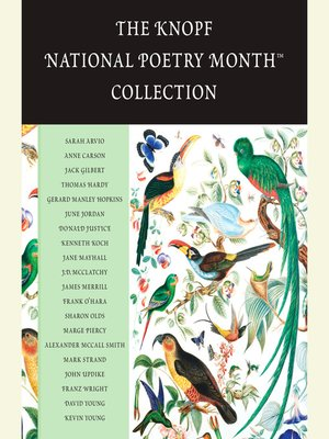 cover image of The Knopf National Poetry Month(TM) Collection
