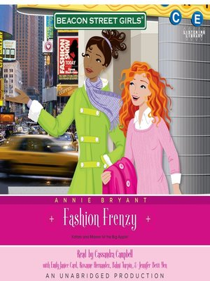 cover image of Fashion Frenzy