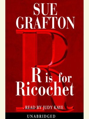 "cover image of ""R"" is for Ricochet"