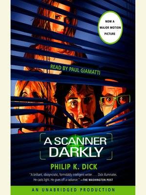 cover image of A Scanner Darkly