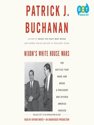 cover image of Nixon's White House Wars