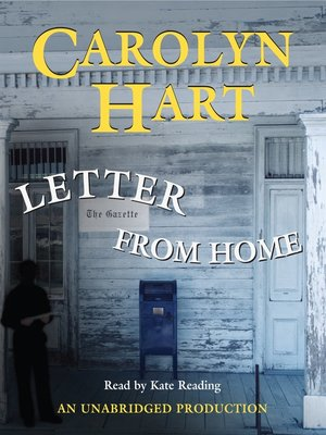 cover image of Letter From Home