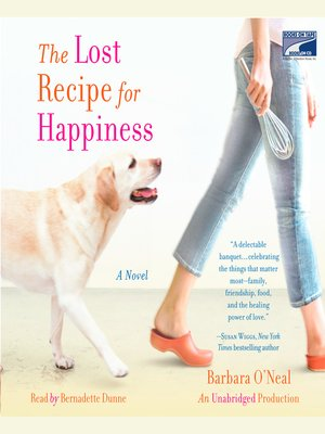cover image of The Lost Recipe for Happiness