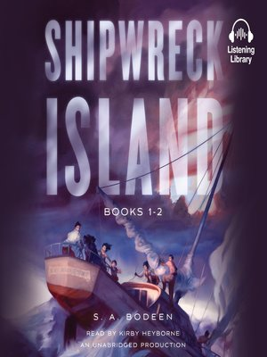 cover image of Shipwreck Island, Books 1-2