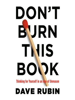 cover image of Don't Burn This Book