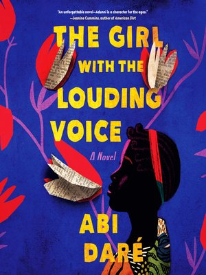 cover image of The Girl with the Louding Voice