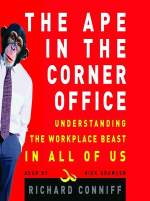 cover image of The Ape in the Corner Office
