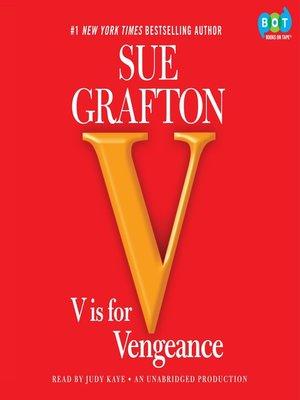 "cover image of ""V"" is for Vengeance"