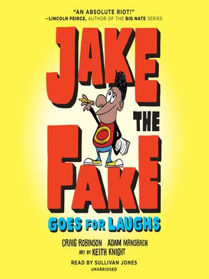 cover image of Jake the Fake Goes for Laughs