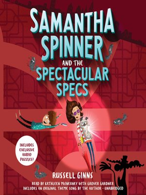 cover image of Samantha Spinner and the Spectacular Specs