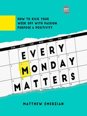 cover image of Every Monday Matters