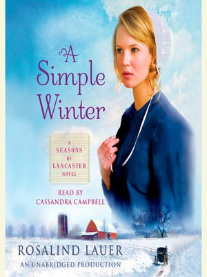 cover image of A Simple Winter