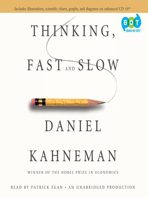 cover image of Thinking, Fast and Slow