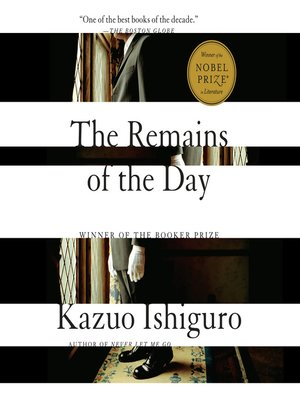 cover image of The Remains of the Day