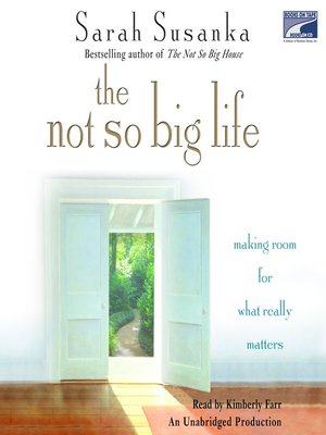 cover image of The Not So Big Life