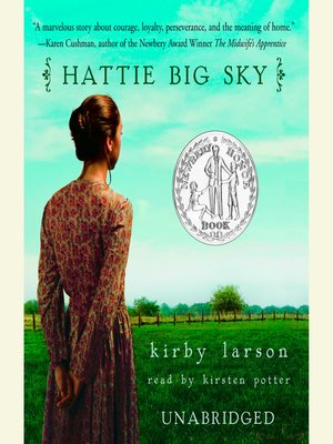 cover image of Hattie Big Sky