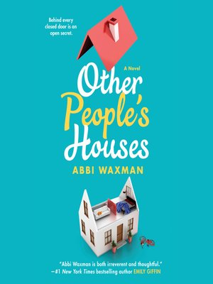 cover image of Other People's Houses