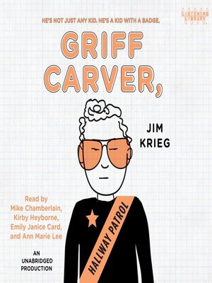 cover image of Griff Carver, Hallway Patrol