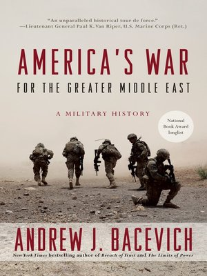 cover image of America's War for the Greater Middle East