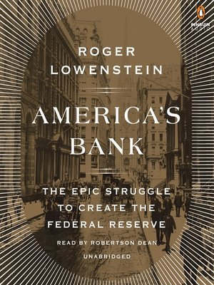 cover image of America's Bank