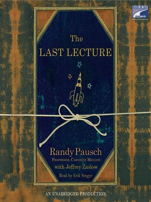 cover image of The Last Lecture