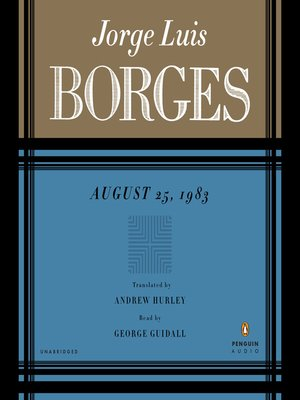 cover image of August 25th, 1983