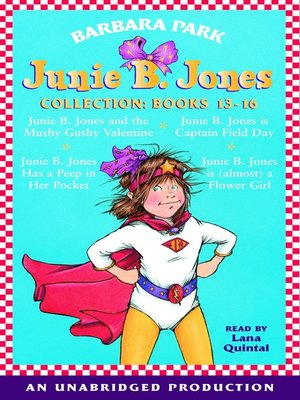 cover image of Junie B. Jones Collection, Books 13-16