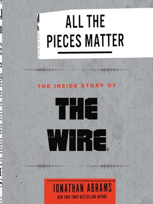 cover image of All the Pieces Matter