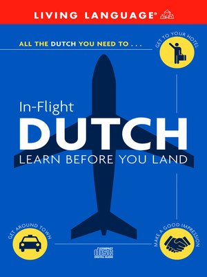 cover image of In-Flight Dutch