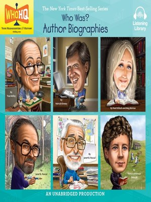 cover image of Who Was: Author Biographies