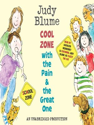 cover image of Cool Zone with the Pain and the Great One