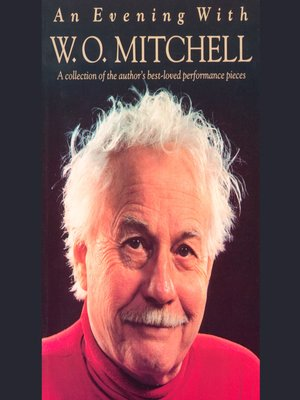cover image of An Evening with W.O. Mitchell