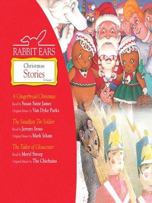 cover image of Rabbit Ears Christmas Stories, Volume 1