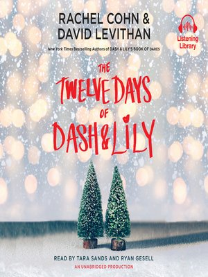 cover image of The Twelve Days of Dash & Lily